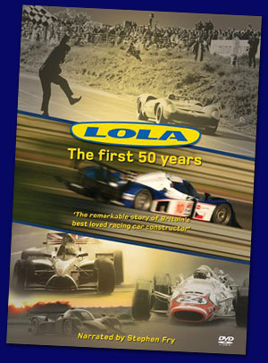 The cover of the new Lola DVD